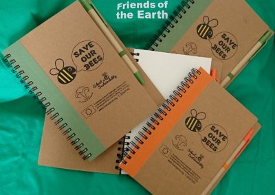 Save Our Bees Notebook