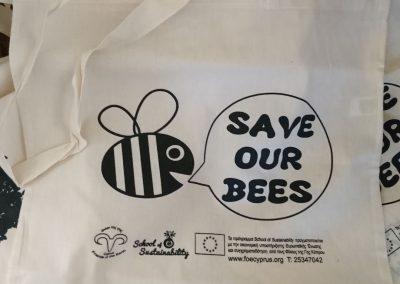 Tote Bag Bees