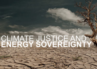 Climate Justice and Energy Sovereignty